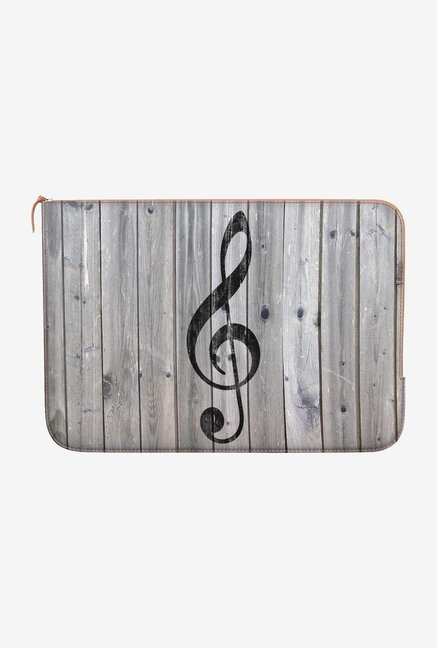 DailyObjects Music Note MacBook 12 Zippered Sleeve