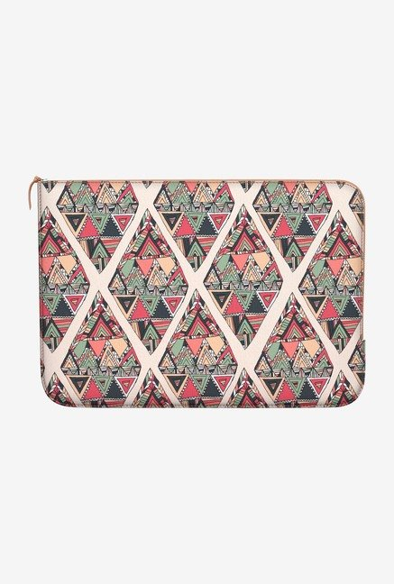 DailyObjects Chic Triangle MacBook 12 Zippered Sleeve