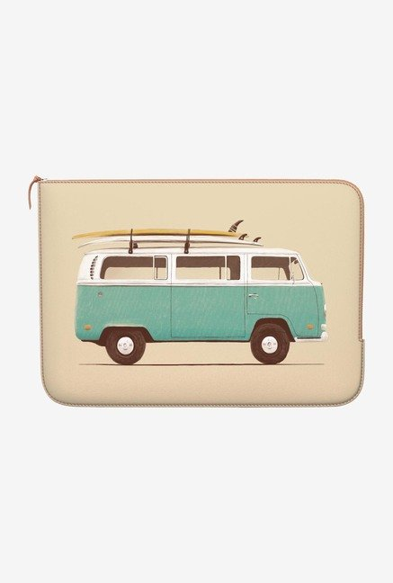 DailyObjects Green Van MacBook Pro 13 Zippered Sleeve
