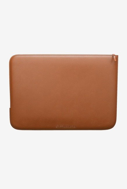 DailyObjects Coral Abstract MacBook 12 Zippered Sleeve