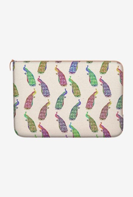 DailyObjects Retro Peacock MacBook Air 13 Zippered Sleeve