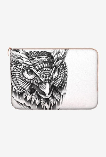 DailyObjects Ornate Owl Head MacBook Pro 15 Zippered Sleeve