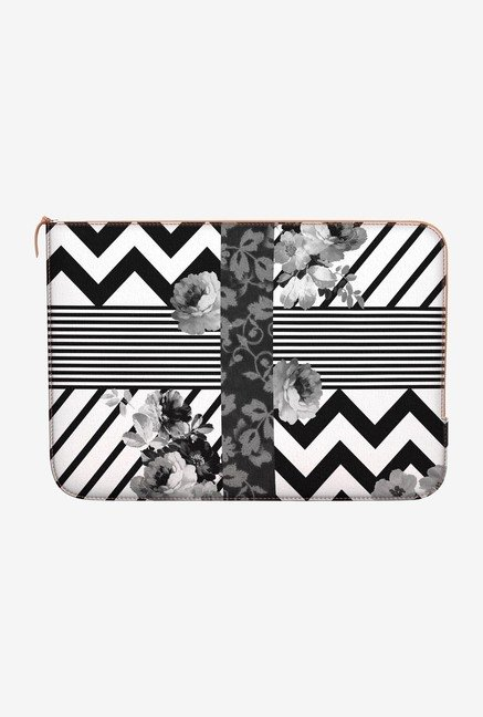 DailyObjects Trendy Stripes MacBook Pro 15 Zippered Sleeve