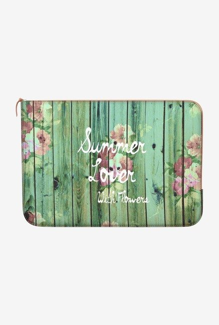 DailyObjects Summer Lover MacBook Pro 15 Zippered Sleeve