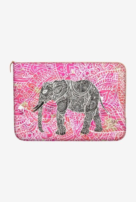 DailyObjects Henna Pattern MacBook Pro 15 Zippered Sleeve