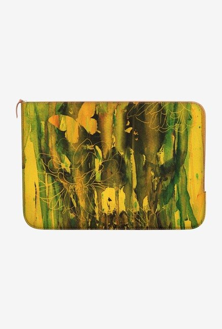 DailyObjects Birth of Yellow MacBook Air 11 Zippered Sleeve