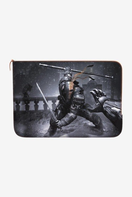 DailyObjects DeathstrokeDuel MacBook 12 Zippered Sleeve