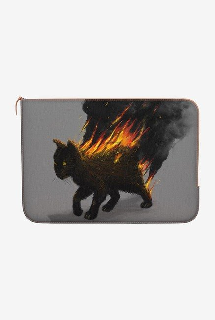 DailyObjects Cat On Fire MacBook Air 13 Zippered Sleeve