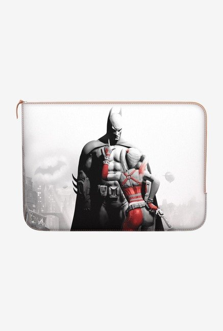 DailyObjects Batman & Quinn MacBook 12 Zippered Sleeve