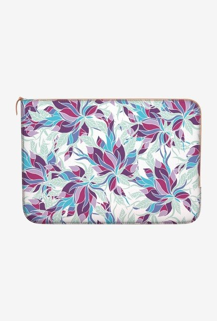 DailyObjects Fall Floral MacBook Pro 13 Zippered Sleeve