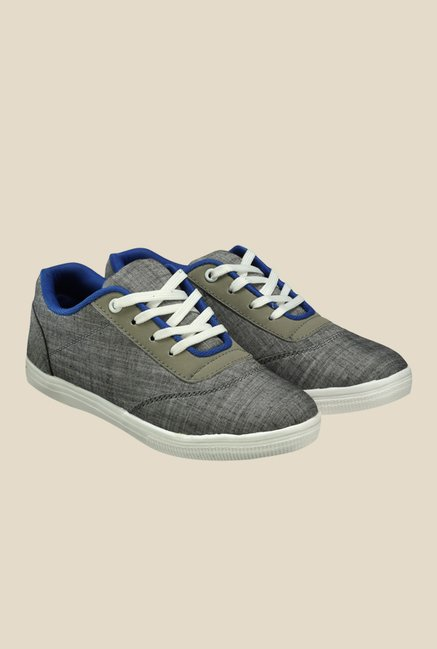 Nell Grey & White Sneakers