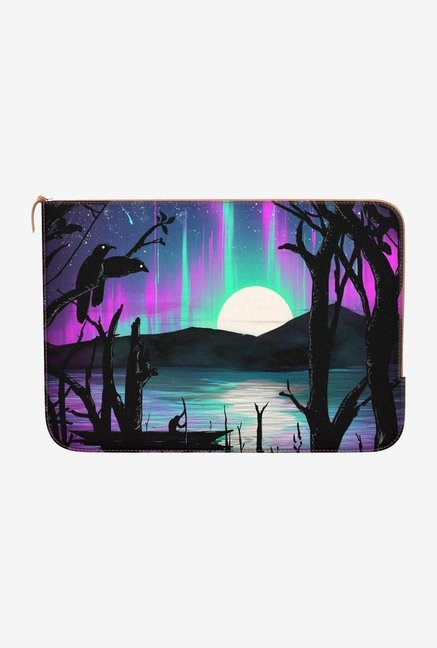 DailyObjects Night Aurora MacBook Pro 15 Zippered Sleeve
