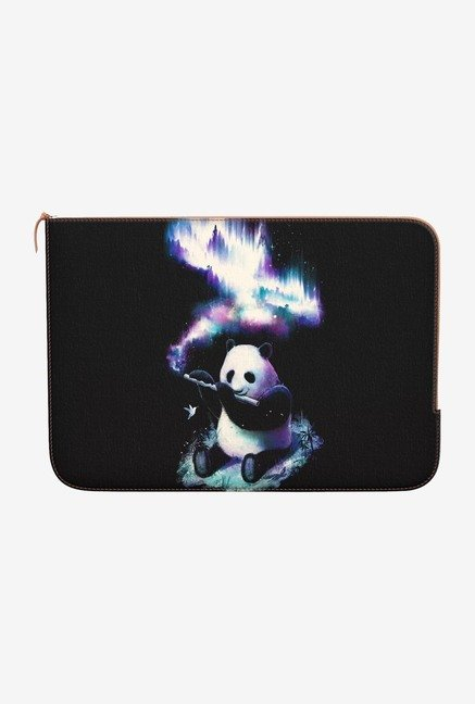 DailyObjects Panda Flute MacBook Pro 15 Zippered Sleeve