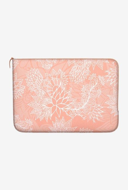 DailyObjects Chic Floral MacBook Pro 15 Zippered Sleeve