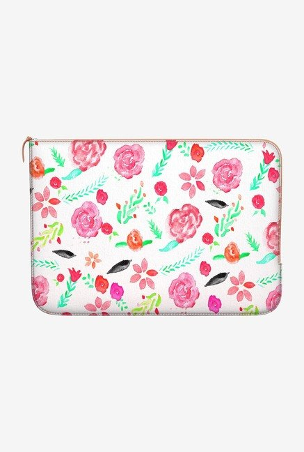DailyObjects Floral Botanical MacBook Pro 15 Zippered Sleeve