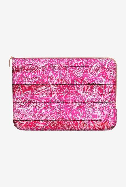 DailyObjects Floral Paisley MacBook Pro 15 Zippered Sleeve