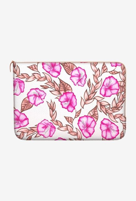 DailyObjects Painted Floral MacBook Pro 15 Zippered Sleeve