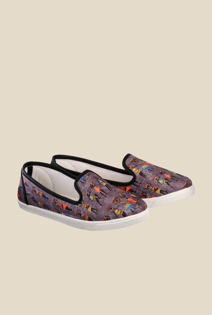 Nell Brown Casual Loafers