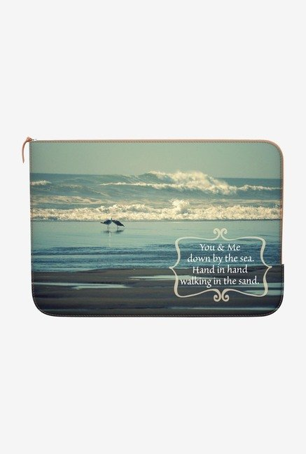 DailyObjects Down by the Sea MacBook Pro 13 Zippered Sleeve