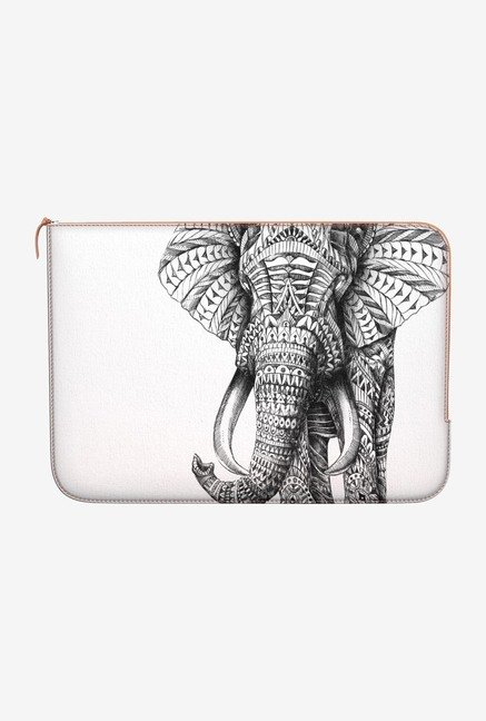 DailyObjects Ornate Elephant MacBook Pro 15 Zippered Sleeve
