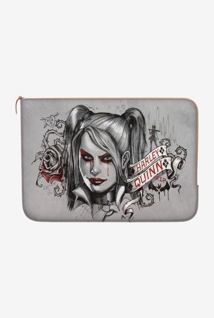 DailyObjects Quinn RIP MacBook Pro 15 Zippered Sleeve