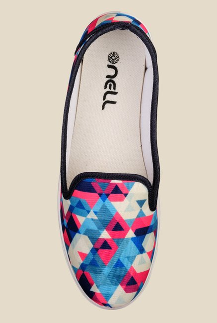 Nell Multicoloured Casual Loafers