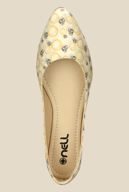 Nell Yellow Flat Ballets