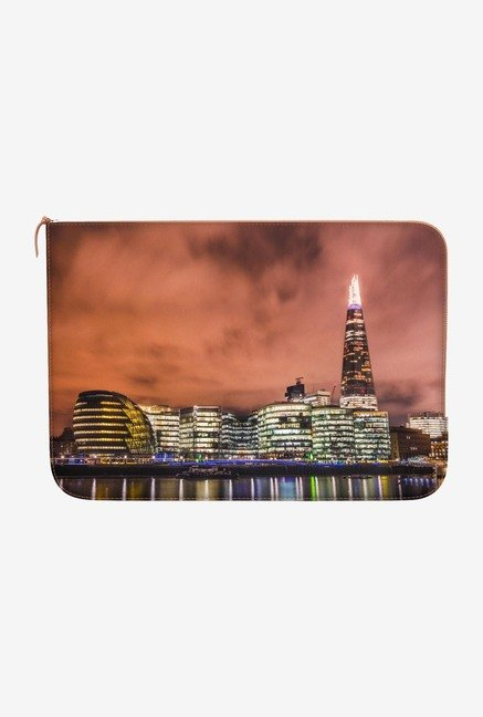 DailyObjects Night Skyline MacBook 12 Zippered Sleeve