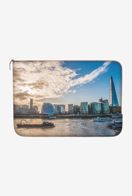 DailyObjects On the Thames MacBook Pro 13 Zippered Sleeve