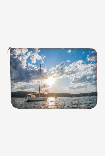 DailyObjects Sail Away MacBook Pro 13 Zippered Sleeve