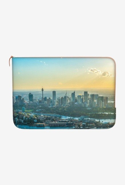 DailyObjects City at Dawn MacBook Pro 13 Zippered Sleeve