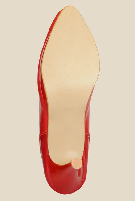 Nell Red Casual Pumps