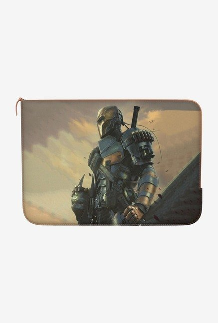 DailyObjects DeathstrokeMask MacBook 12 Zippered Sleeve