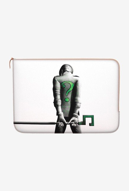 DailyObjects The Riddler MacBook 12 Zippered Sleeve