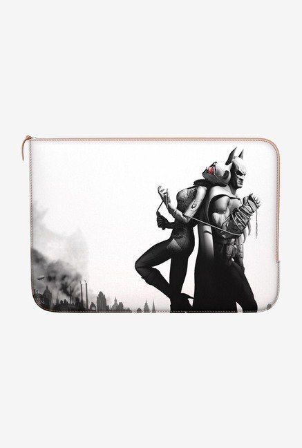 DailyObjects Batman Catwoman MacBook Pro 15 Zippered Sleeve