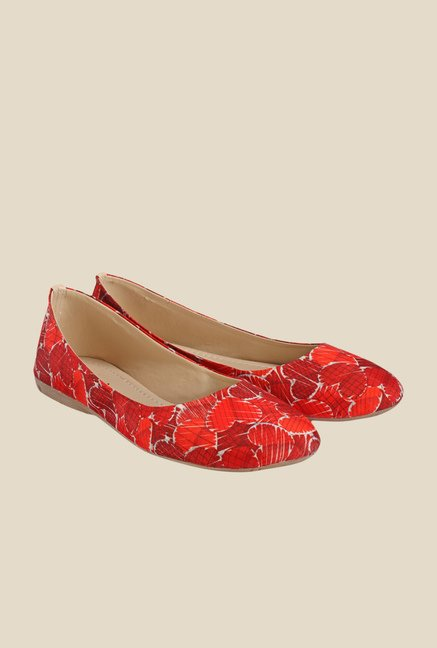 Nell Red Flat Ballets