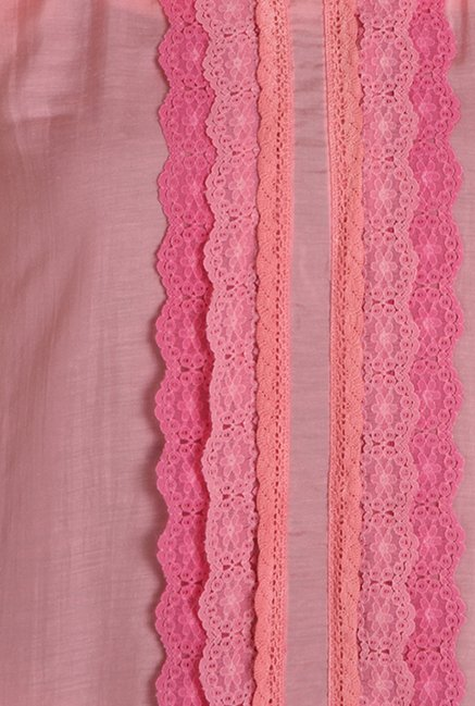 Soie Light Pink Lace Top