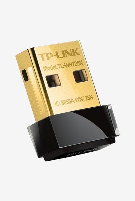 TP Link TL WN725N 150Mbps Wireless USB Adapter  Black