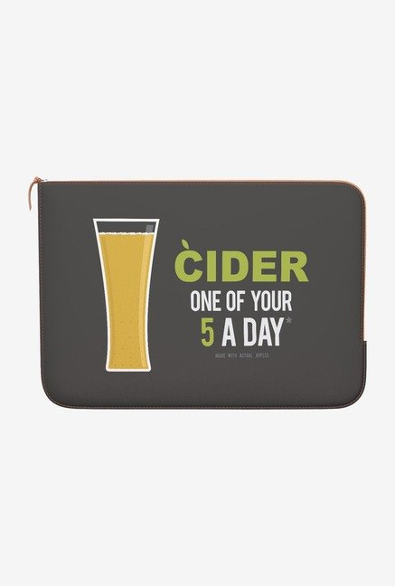 DailyObjects Cider MacBook Air 13 Zippered Sleeve