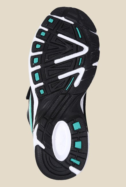 Puma Atom II V Jr DP Black & Mint Leaf Sneakers