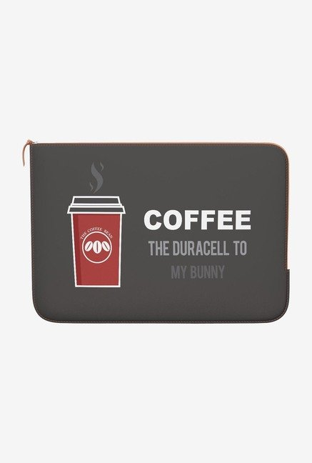 DailyObjects Coffee MacBook Pro 15 Zippered Sleeve