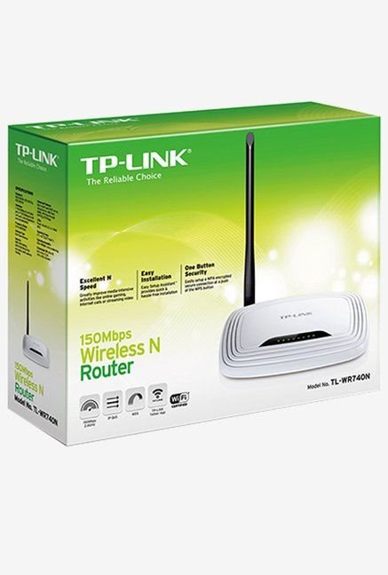 TP-LINK TL-WR740N 150Mbps Wireless Router (White)