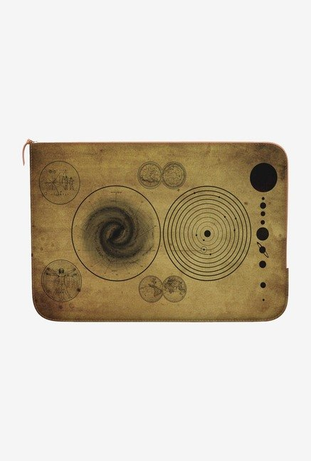 DailyObjects Ancient Map MacBook Air 13 Zippered Sleeve