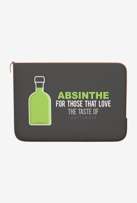 DailyObjects Absinthe MacBook 12 Zippered Sleeve