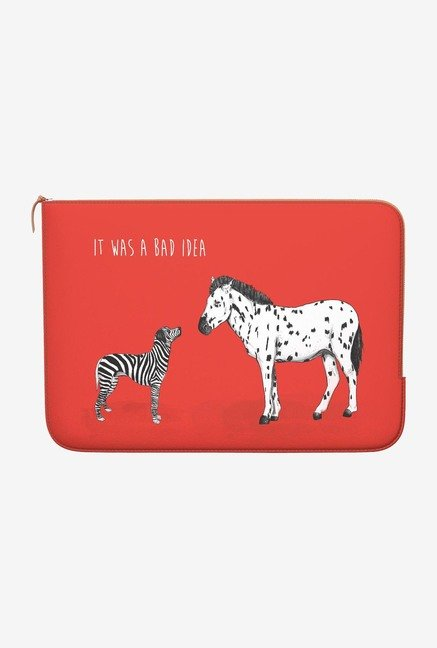 DailyObjects Bad Idea MacBook Air 11 Zippered Sleeve