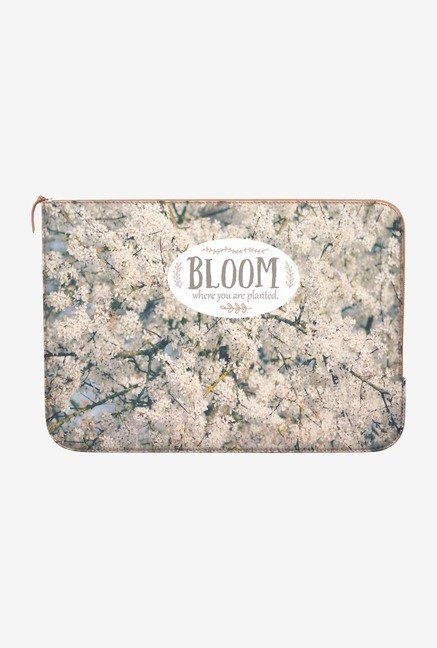 DailyObjects Bloom Where MacBook 12 Zippered Sleeve