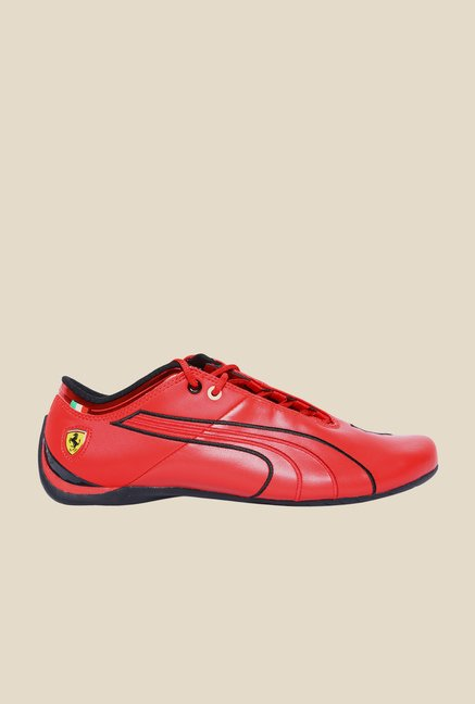 Puma Ferrari Future Cat M1 Rosso Corsa & Black Sneakers