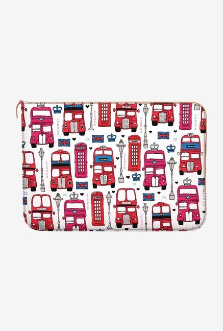DailyObjects London Bus MacBook Pro 13 Zippered Sleeve