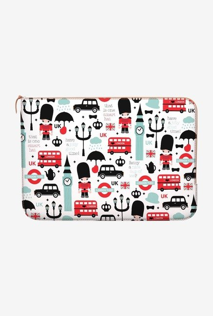 DailyObjects London MacBook Pro 13 Zippered Sleeve