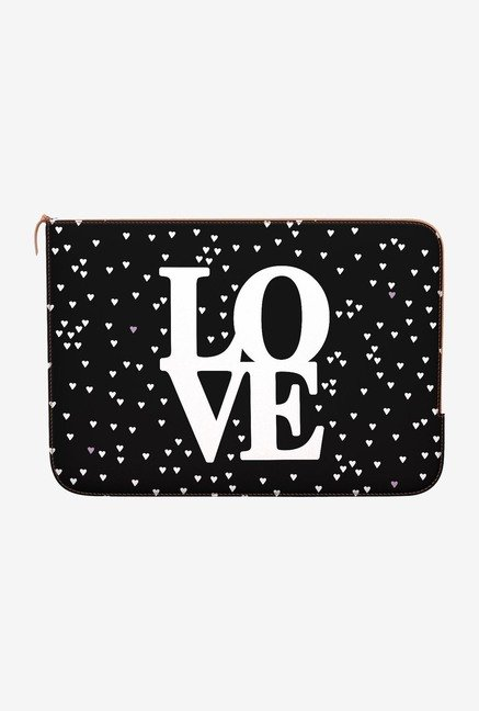 DailyObjects Love Hearts MacBook Pro 13 Zippered Sleeve